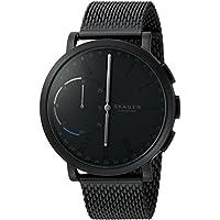 Skagen Connected Men's Hagen Stainless Steel Mesh Hybrid Smartwatch, Color: Black (Model: SKT1109)