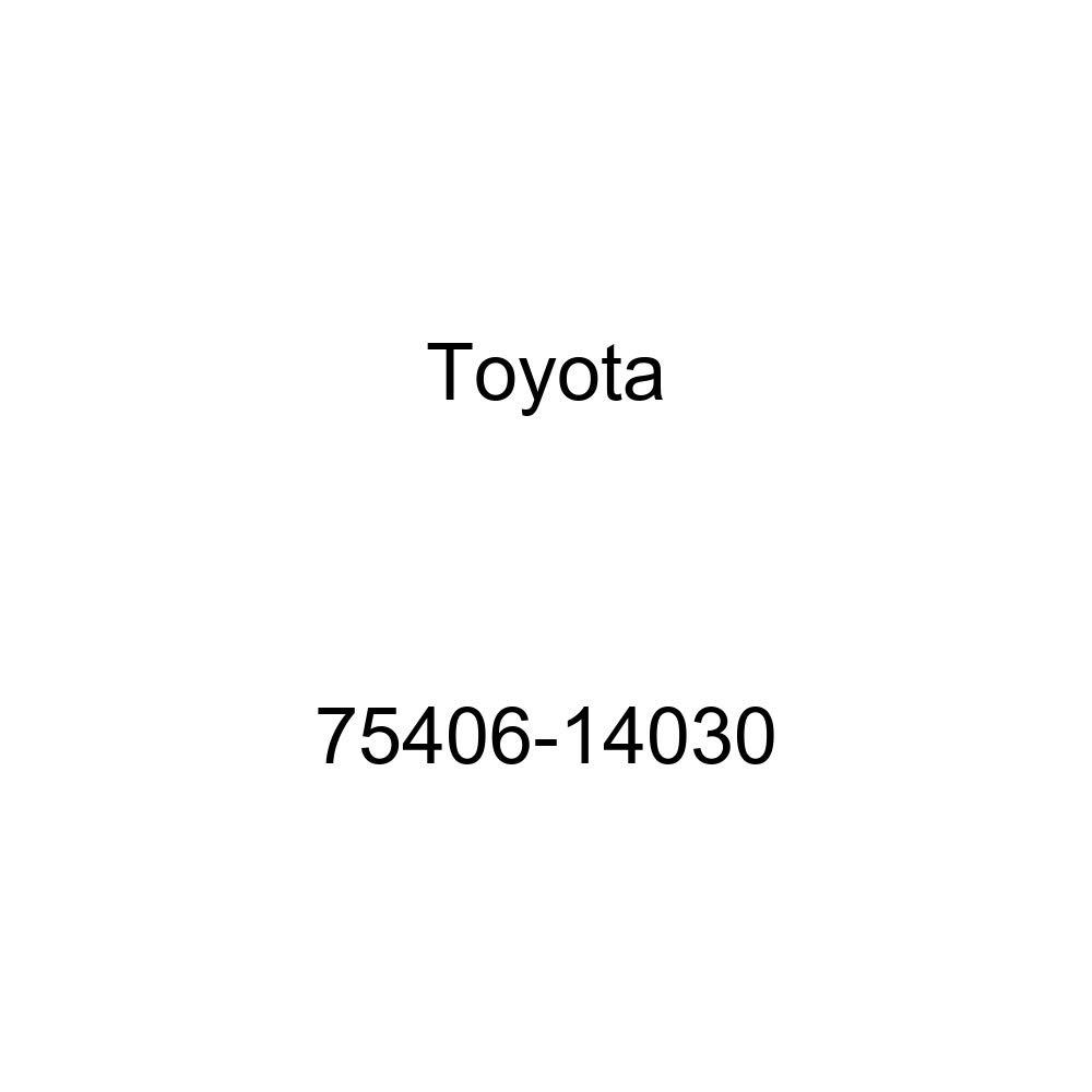 TOYOTA 75406-14030 Name Plate