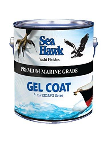 Sea Hawk Premium Quality Gel Coat, Snow White Qt. 8115P-QT