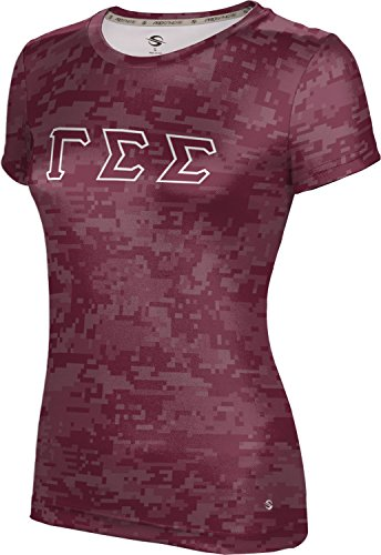 [ProSphere Women's Gamma Sigma Sigma Digital Tech Tee (XX-Large)] (Miami Vice Outfits)