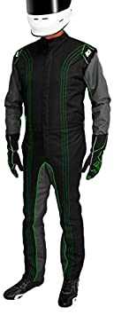 Red, 7X-Small K1 Race Gear CIK//FIA Level 2 Approved Kart Racing Suit