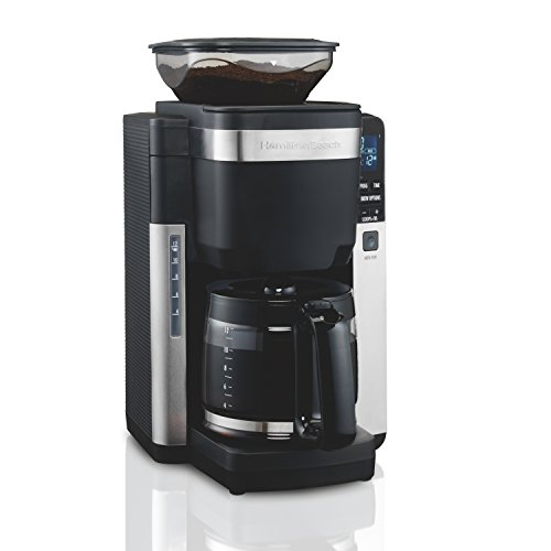 Hamilton Beach 45400 Coffee Maker, Automatic Grounds Dispens