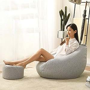 CRRQQ Saco de sofá - Sillones de felpa ultra suave Sillas ...