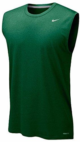 Nike Mens Legend Dri Fit Sleeveless T Shirt Green ifaZZkkhDR