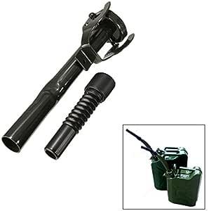 Alamor Surtidor Flexible Del Verter Del Metal Con El Nozzel Libre Del Combustible Para 5//10//20 L Gerry Jerry Latas