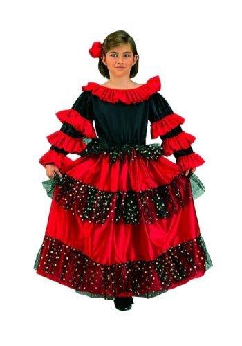 Spanish Dancer Beauty Kids Costume by RG Costumes (Spanish Dancer Kids Costume)