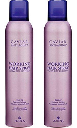 Alterna Caviar Anti-Aging Working Hair Spray, 15.5 Ounce