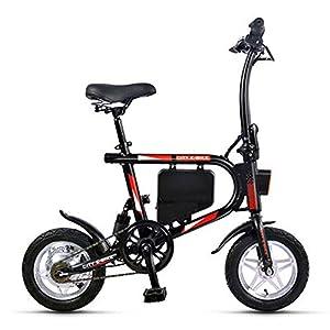 41uICJQ%2BWuL. SS300 RXRENXIA Folding Bike Elettrica, Mini Bicicletta Elettrica età Due Ruote Mini Pedale Auto Elettrica con LED Lighting…