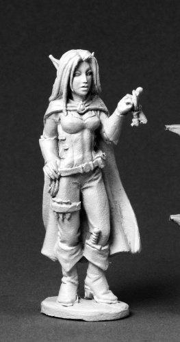 Valloa the Female Elf Thief