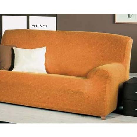 Eysa Luna - Fundas de sofá (3 Plazas), Color Beige: Amazon ...