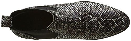 Jb Martin Fute, Zapatillas de Estar por Casa para Mujer Noir (Che Python Noir)