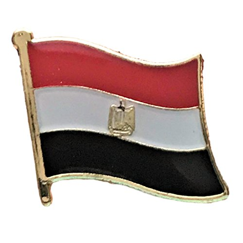 Backwoods Barnaby Egyptian Flag Lapel Pin (0.75