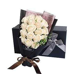 RICHEE-NL MAIHEIMOON Handmade Artificial Rose Flower Gift Box for Mother's Day Birthday Anniversaries 3
