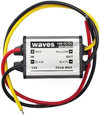 waves DCDC コンバーター 12V 電圧 変換 変圧 DC-DC デコデコ 12V→5V
