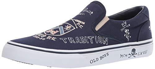 Polo Ralph Lauren Men's Thompson III Shoe, Newport Navy, 11 D US