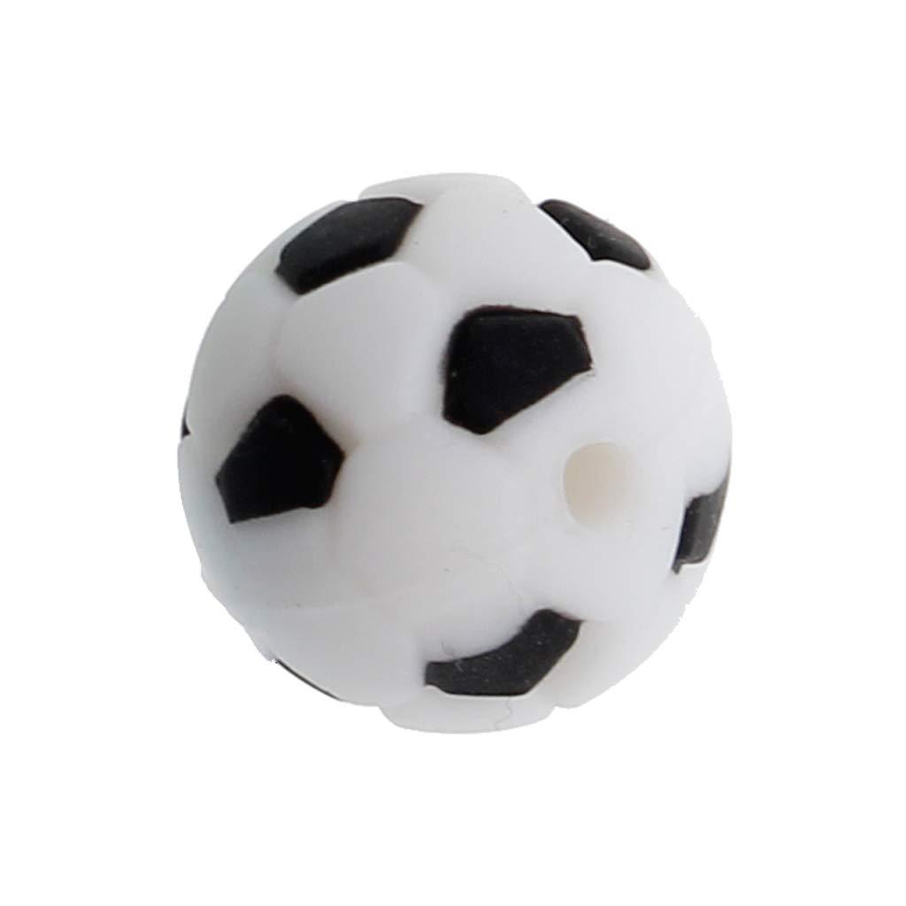 Perlas de silicona zhangyo 15mm Mordedor para bebé Fútbol de ...
