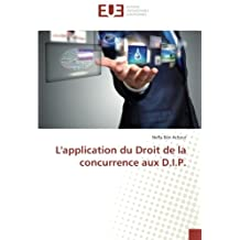 APPLICATION DU DROIT DE LA CONCURRENCE AUX (L')