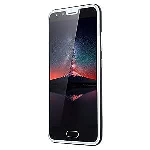 Haihuic Unlocked 3G Smartphone, 5.0 inch HD Screen Android 4.4 512MB RAM 4GB ROM Dual SIM Slots Dual Camera Face ID WiFi GPS Bluetooth Black