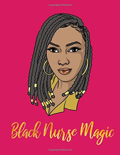Nursing Care Planner: Black Nurse Magic Gold and Pink With Nursing Care Plan And Mandala For Coloring If You Cant Find A Pack Of Cards: Amazon.es: Mae, Helen: Libros en idiomas extranjeros