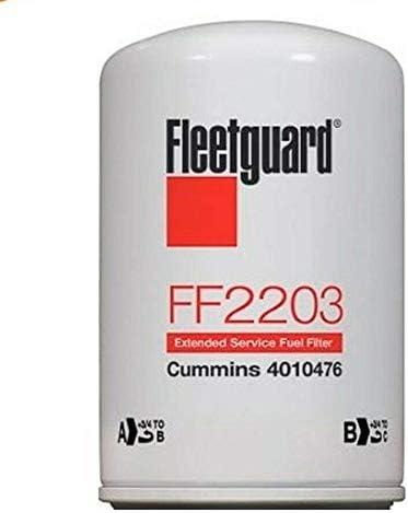 Fleetguard FF2203 Fuel Filter 2 Pack
