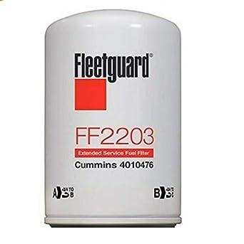 Fleetguard Fuel Filter Pack of 6 Part No FF2203 Cummins Filtration