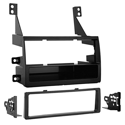 Metra 99-7419 Single DIN Installation Kit for 2005-2006 Nissan Altima Vehicles without Navigation (Black) (Nissan Altima Computer)