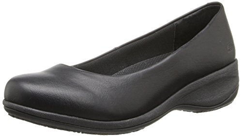 Skechers for Work Women's Mina Slip-On,Black,7 M US by Skechers