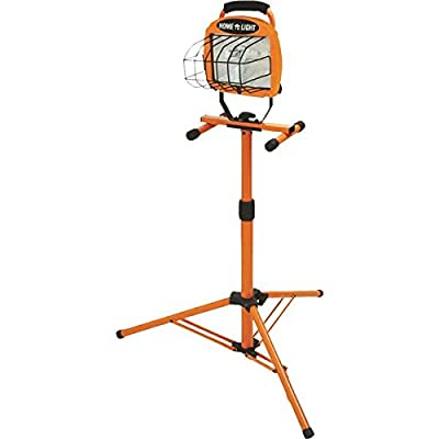 Designers Edge 500W Halogen Tripod Work Light - 1 Each