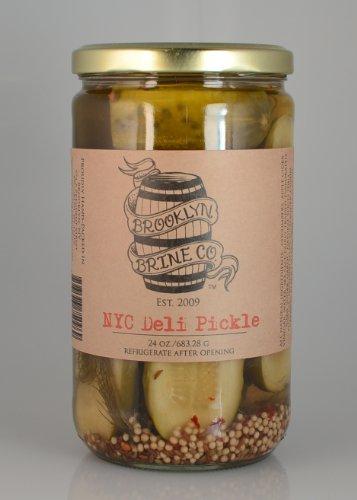 Organic Dill Pickles - NYC Deli Pickle 24oz