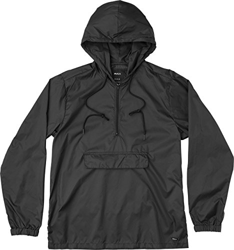 RVCA Men's Public Works Jacket, Black, Medium
