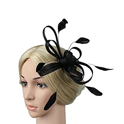 MeryaDress Tea Party Kentucky Derby Fascinators Hair Clip Prom Cocktail Hats