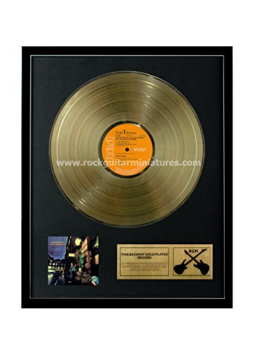RGM1240 David Bowie The Rise and Fall of Ziggy Stardust And The Spiders From Mars Gold Disc 24K Plated LP 12''