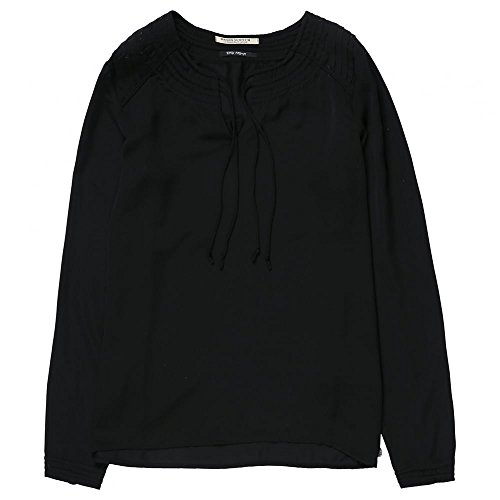 Maison Scotch Silky Feel Top With Cord Detail Black
