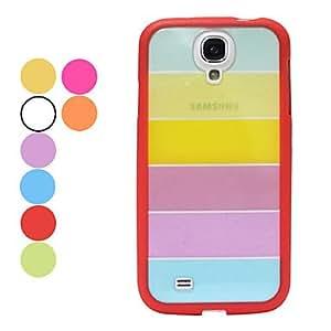 conseguir Rainbow nuevo caso para Samsung i9500 Galaxy S4 , Naranja
