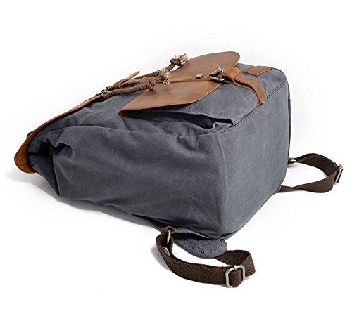 Waterproof Outdoor Men Camping Double Backpack Outdoor Daypacks Black Backpack Leisure Bags Hunting Hiking Green Hiking Shoulder xYYRSwvq