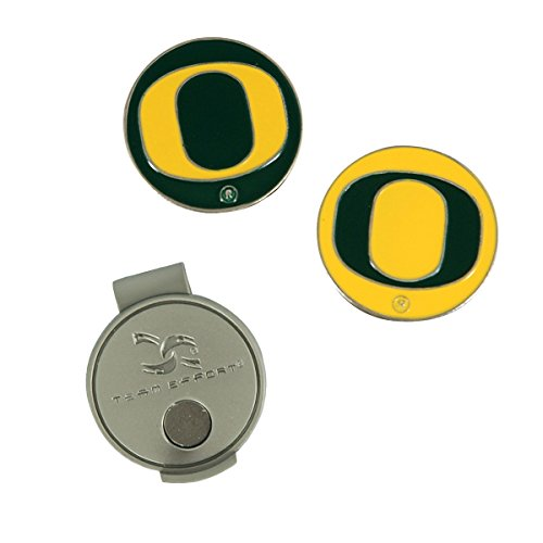 Team Effort Oregon Ducks Hat Clip & 2 Ball Markers
