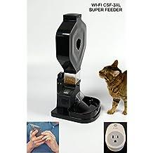 Super Feeder Wi-Fi Automatic Cat Feeder, CSF-3XL, Stand/Bowl, Wi-Fi Plug
