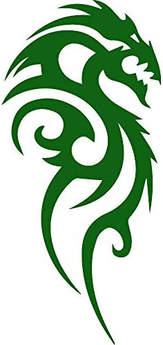 ANGDEST Dragon Tribal Green Variations