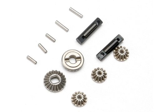 Traxxas 7082 1/16 Differential Gear Set and Output (Traxxas Hop Ups)