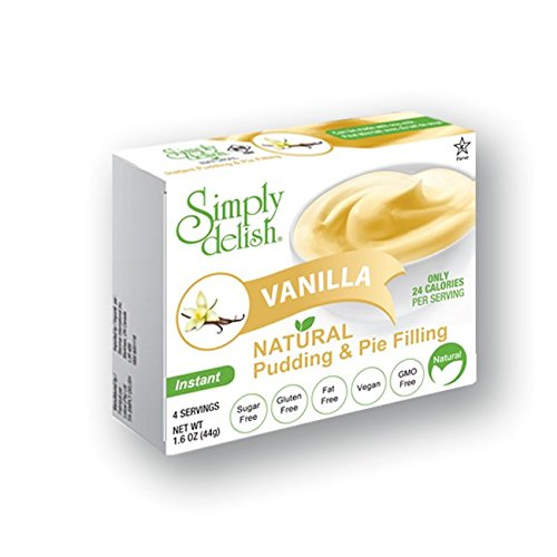 Simply Delish Vanilla Natural Pudding and Pie Filling, 1.6 OZ