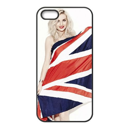 Jade Thirlwall 005 coque iPhone 5 5S cellulaire cas coque de téléphone cas téléphone cellulaire noir couvercle EOKXLLNCD24653