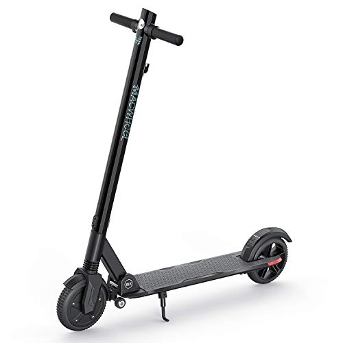Macwheel Electric Scooter, 17 Miles Long Range Battery, Up to 15.5 MPH, 8' Non-Pneumatic Tires, Portable and Folding Commuter Electric Scooter for Adults (MX3)