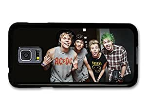 5 Seconds Of Summer Funny Faces Boyband case for Samsung Galaxy S5 mini by Maris's Diary