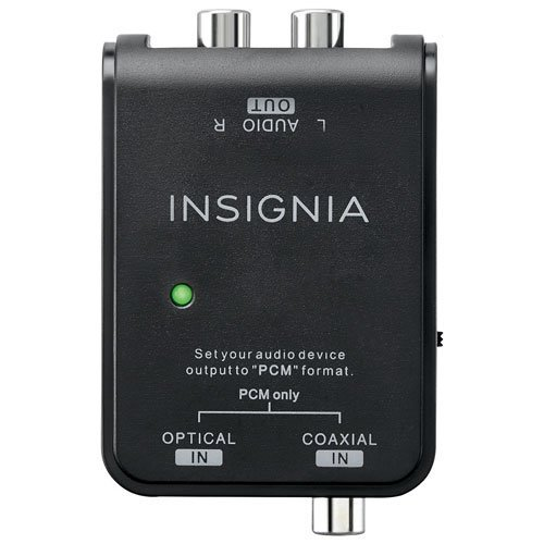 Digital to Analog Audio Converter Cable (NS-HZ313-C) - Black, Guaranteed Lowest Price Deal Insignia