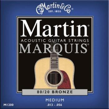 Marquis Martin (Martin M1200 Marquis 80/20 Bronze Acoustic Strings, Medium)