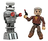 DIAMOND SELECT TOYS Lost in Space Dr. Smith and B9 Robot Minimates, 2-Pack
