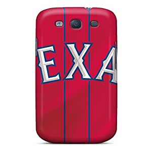 AaronBlanchette Samsung Galaxy S3 Scratch Protection Phone Case Custom High-definition Texas Rangers Skin [lam5766UtCp]