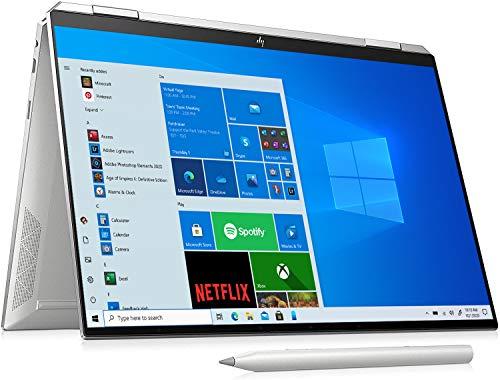 HP Spectre x360 14-ea0008sa 13.5″ Touchscreen Laptop 3000 x 2000 pixels Intel Core i7-1165G7 16GB 512GB SSD Windows 10 Home, Silver