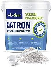 Natriumbicarbonaatpoeder 4,5 kg in voedselkwaliteit incl. doseerlepel Vegan - voor huishoudelijk, alkalisch bad, reiniger, neutralisator