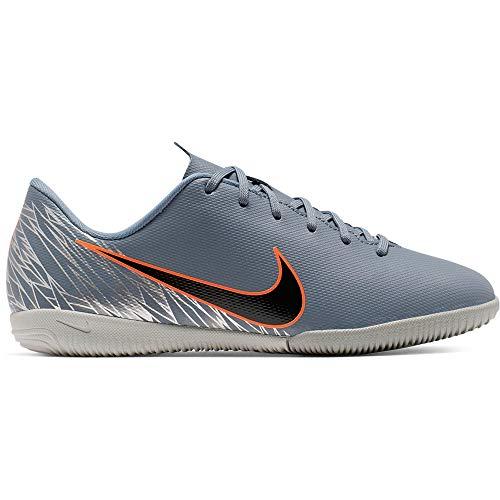 Nike JR Mercurial VaporX 12 Academy GS IC Soccer Shoes (4 Big Kid, Armory Blue)